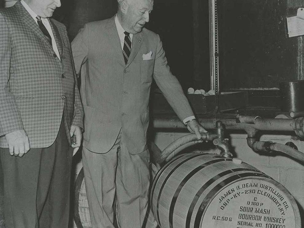 "T. Jeremiah ""Jere"" Beam - Construction of The New Distillery in Bullitt County, KY"