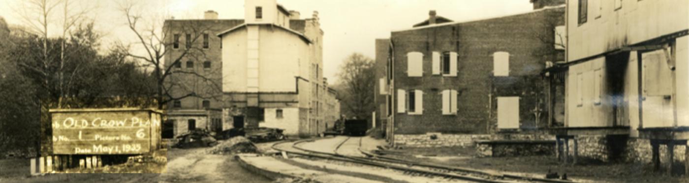Old Crow Bourbon Distillery