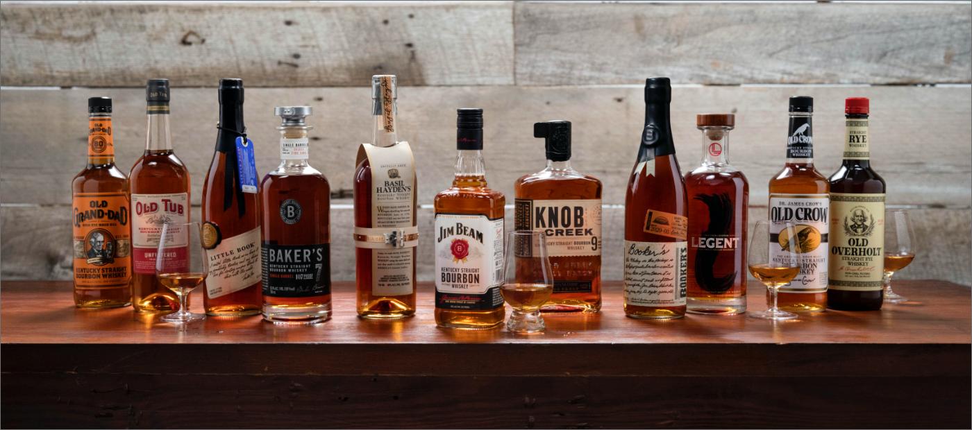 Beam Bourbon Brands - American Whiskeys Brands